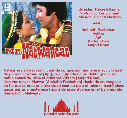 MR. NATWARLAL - 1979  Natwar
