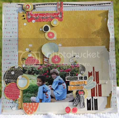 What I did with the May 2012 Kit  Special-friends