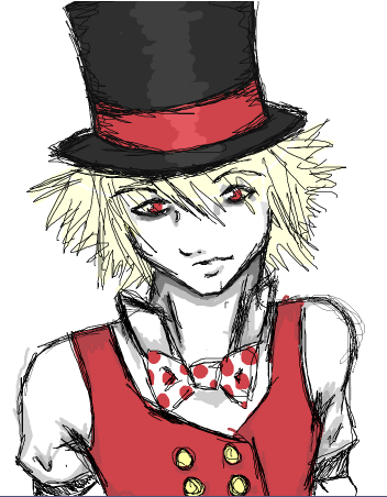 "Matt ""The Gambler"" Oekaki_Mad_Hatter_by_mooneko"