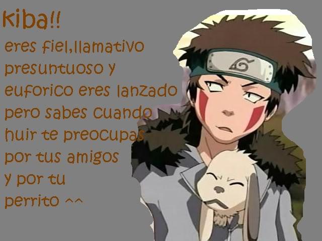 Test: Qué personaje de Naruto eres?? Kiba