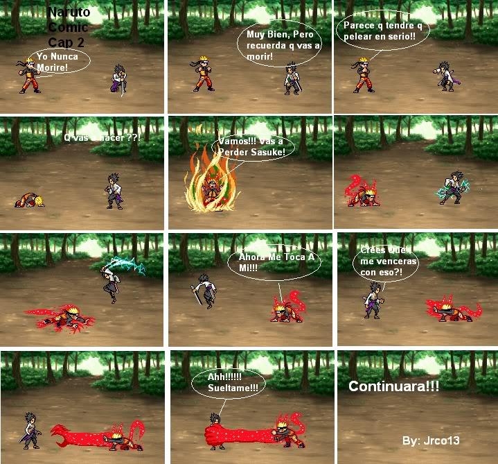Naruto Comic (Cap 5) Cap2