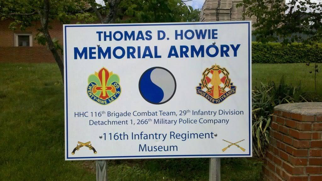 Veteran's Memorial & 116th Infantry Regiment Museum — Staunton, VA 133