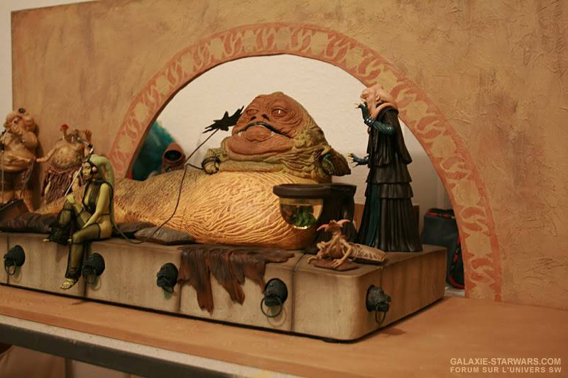 Diorama Jabba gentle giant Mise a jour 02/12 ... 1-42