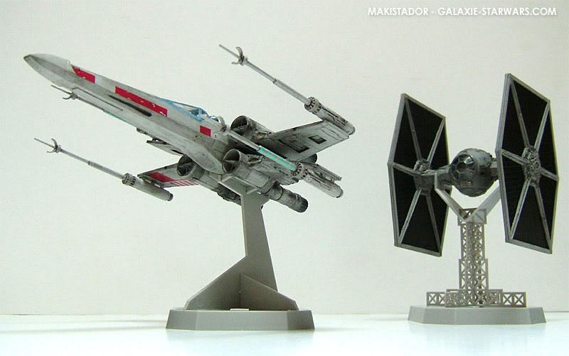 FINEMOLDS maquette Tie-fighter 1/72 eme 11-1