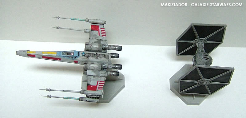 FINEMOLDS maquette Tie-fighter 1/72 eme 12-2