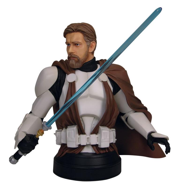 Obi-Wan Kenobi in Clone Trooper Armor Mini Bust 2-24