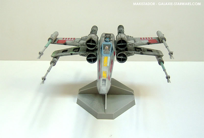 FINEMOLDS maquette X-wing 1/72 eme 2-5