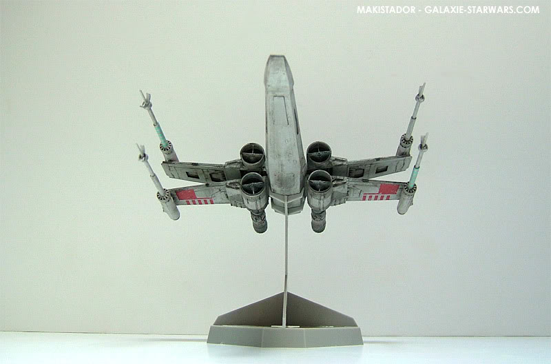 FINEMOLDS maquette X-wing 1/72 eme 3-4