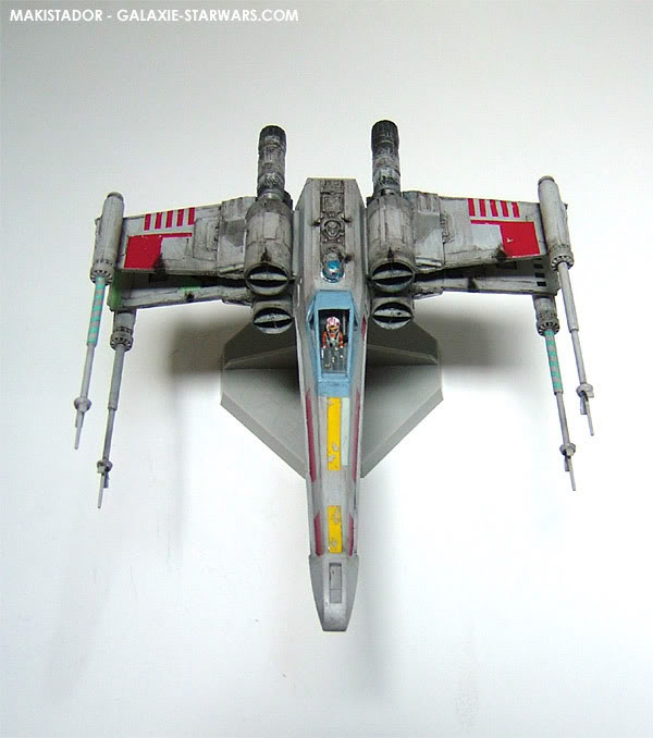 FINEMOLDS maquette X-wing 1/72 eme 4-4