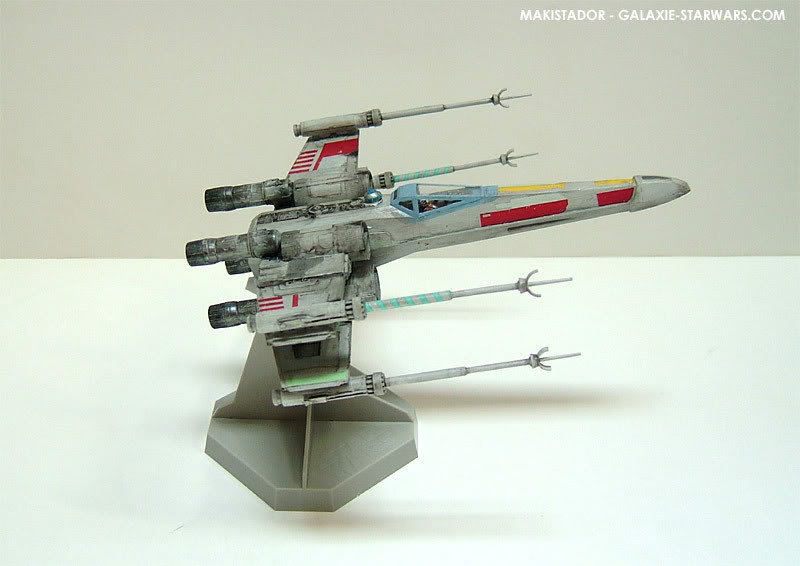 FINEMOLDS maquette X-wing 1/72 eme 5-4
