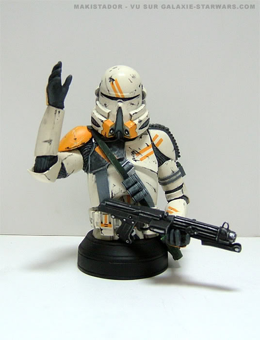 Buste Obi-wan clone armor custom 6-10