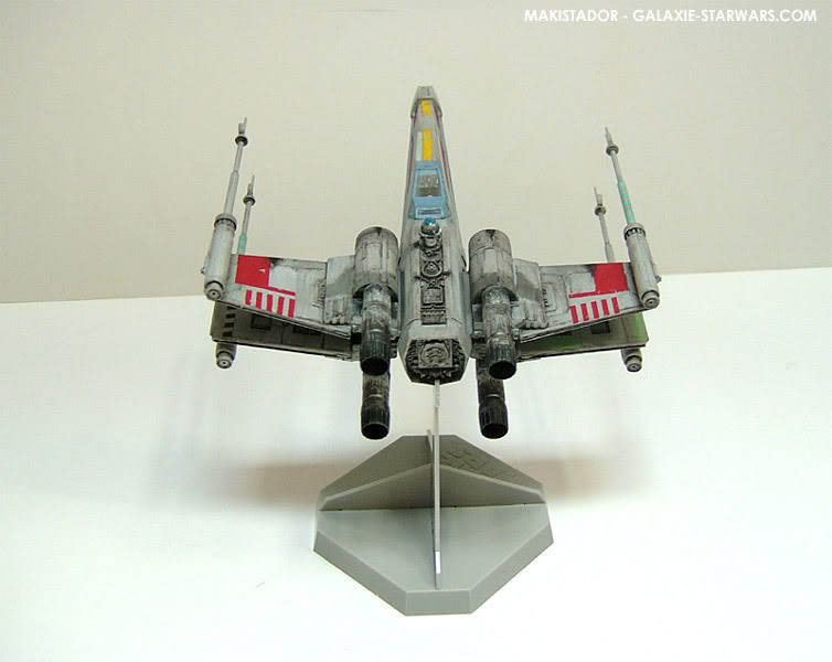 FINEMOLDS maquette X-wing 1/72 eme 6-4