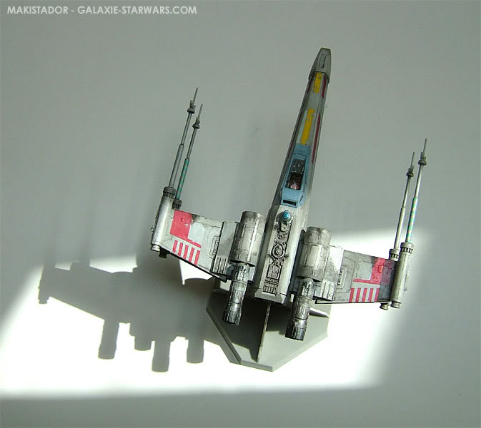 FINEMOLDS maquette X-wing 1/72 eme 7-3