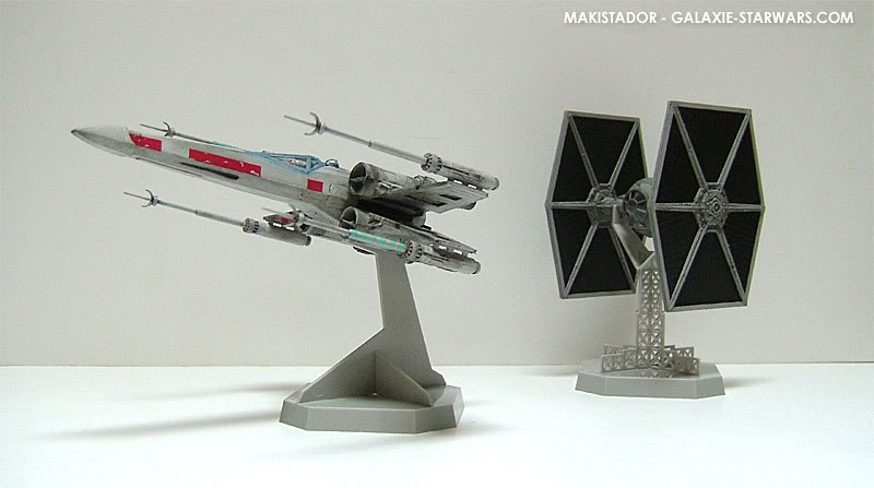 FINEMOLDS maquette Tie-fighter 1/72 eme 7-4