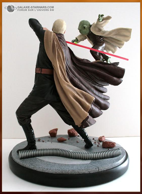 Diorama Yoda vs Count Dooku ! - Page 6 8-19