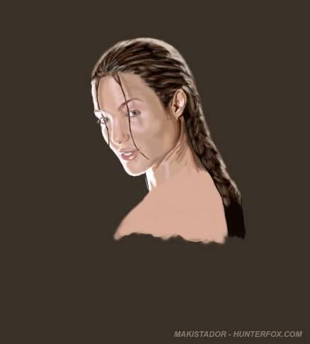 Art digital makistador - Cinéma et autres Angelina