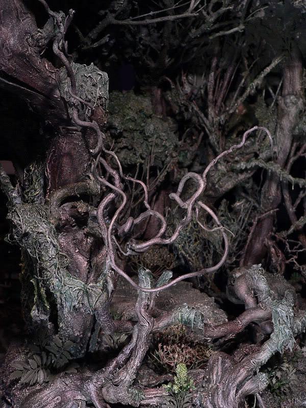 LOTR - Diorama Sda 'Le magicien blanc Dio4-1