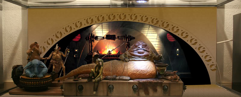 Jabba the Hutt Diorama gentle giant - Page 4 Dioprojet