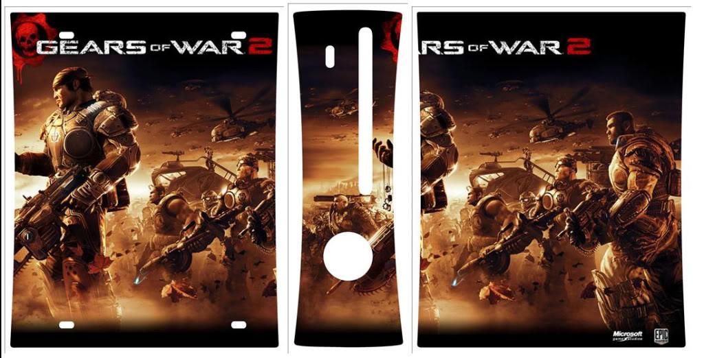 Des skins ( stickers ... ) pour votre console de jeux ! Gears21