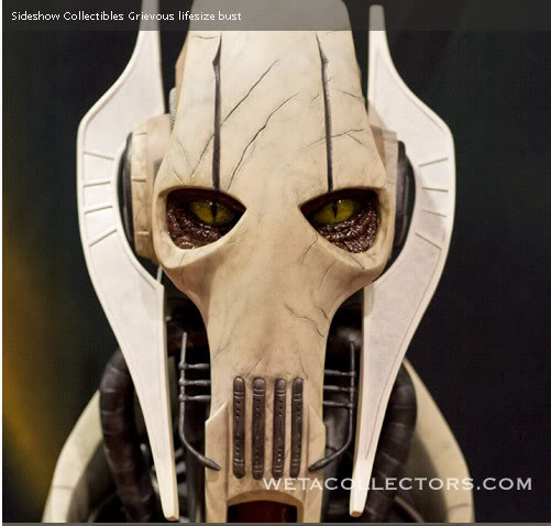 The General Grievous Life-Size Bust Grievous