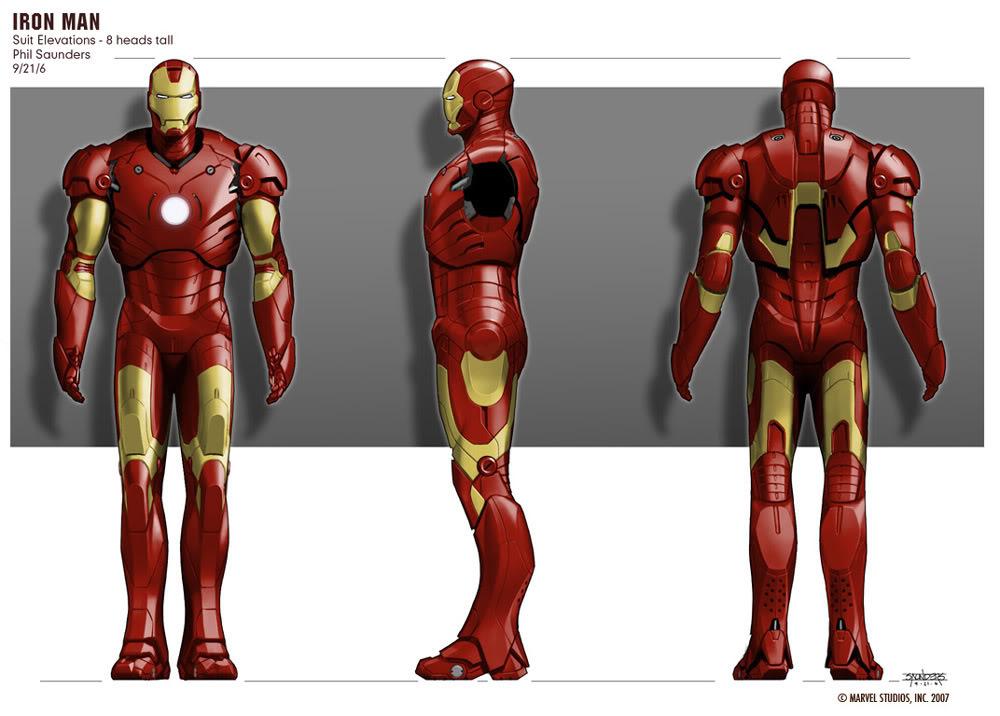 Concept Art Iron Man par Adi Granov Iron10