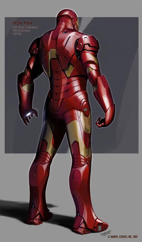 Concept Art Iron Man par Adi Granov Iron11
