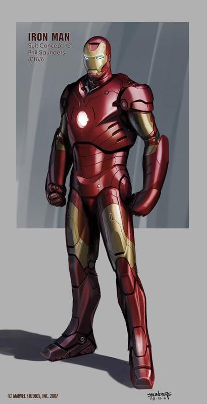 Concept Art Iron Man par Adi Granov Iron12