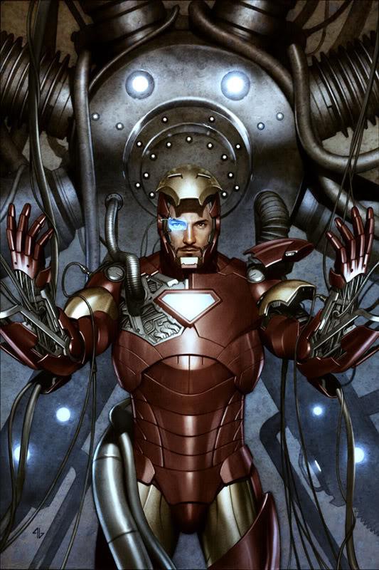 Concept Art Iron Man par Adi Granov Iron13