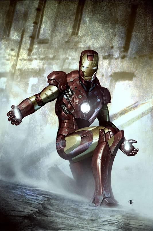 Concept Art Iron Man par Adi Granov Iron14