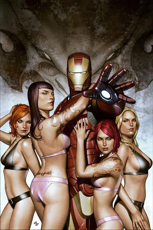 Concept Art Iron Man par Adi Granov Iron15