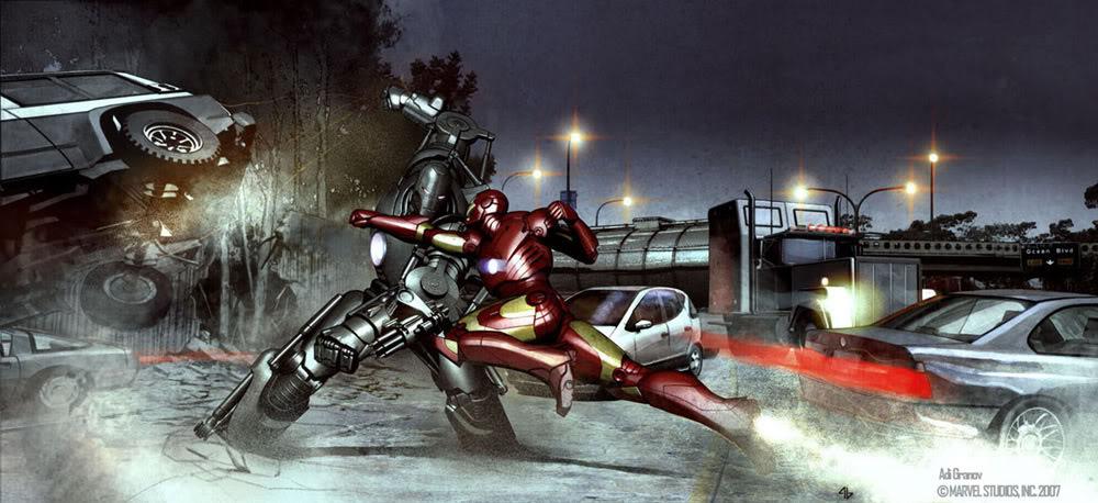 Concept Art Iron Man par Adi Granov Iron17