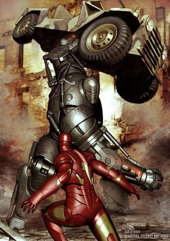 Concept Art Iron Man par Adi Granov Iron20