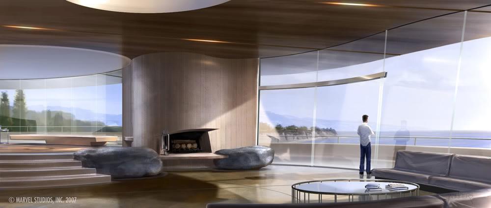 Concept Art Iron Man par Adi Granov Iron3