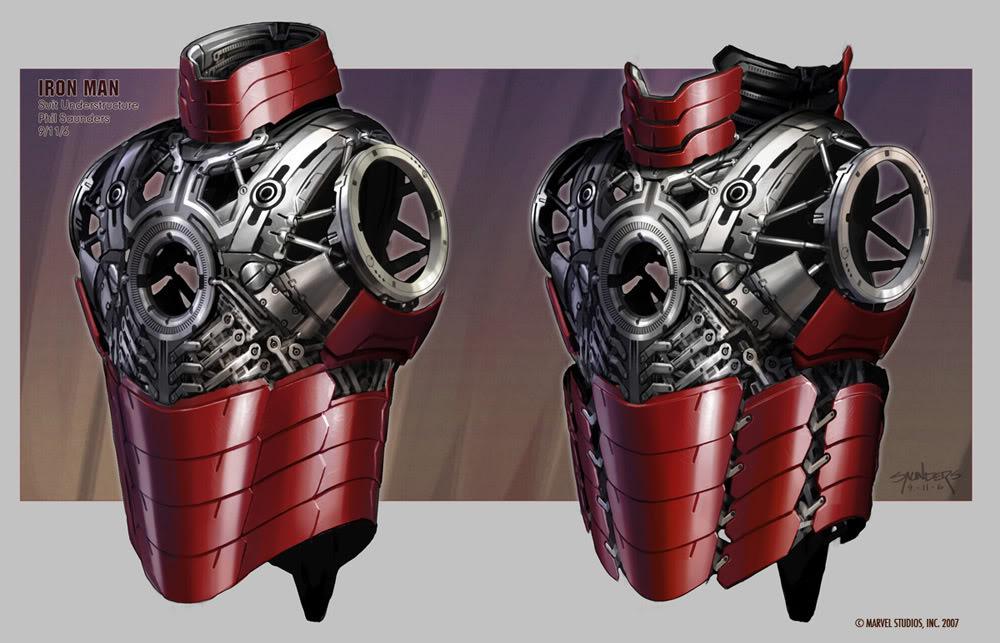 Concept Art Iron Man par Adi Granov Iron8