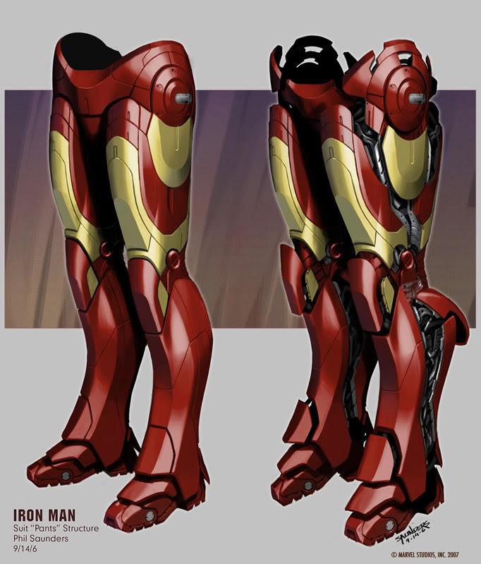 Concept Art Iron Man par Adi Granov Iron9