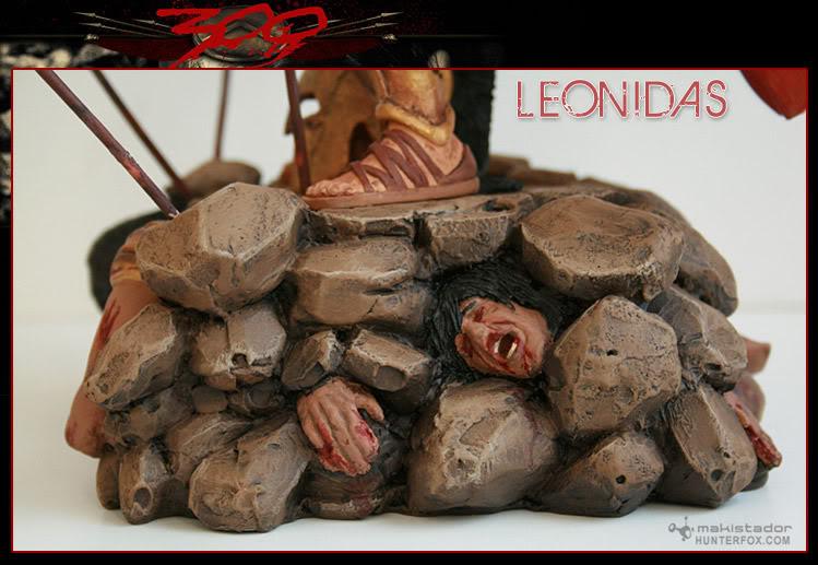 TERMINE - Statue kit resine Leonidas film 300 - SPARTIATES ! Kitleonidas10