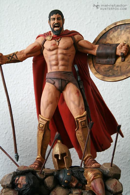 TERMINE - Statue kit resine Leonidas film 300 - SPARTIATES ! - Page 2 Kitleonidas11