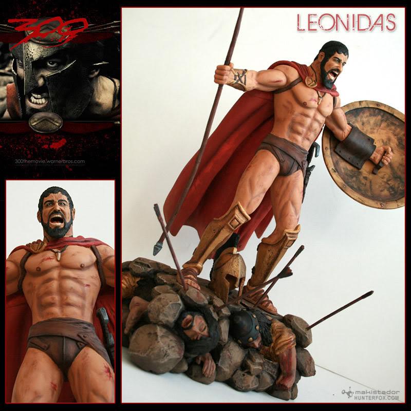 TERMINE - Statue kit resine Leonidas film 300 - SPARTIATES ! Kitleonidas2