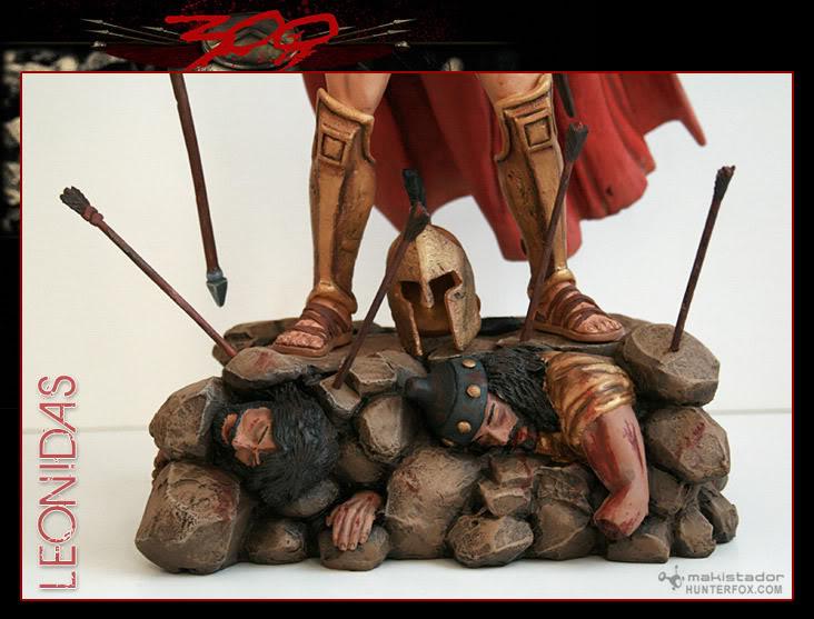 TERMINE - Statue kit resine Leonidas film 300 - SPARTIATES ! Kitleonidas4