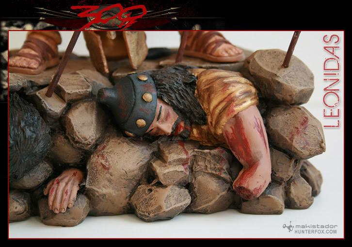 TERMINE - Statue kit resine Leonidas film 300 - SPARTIATES ! Kitleonidas5