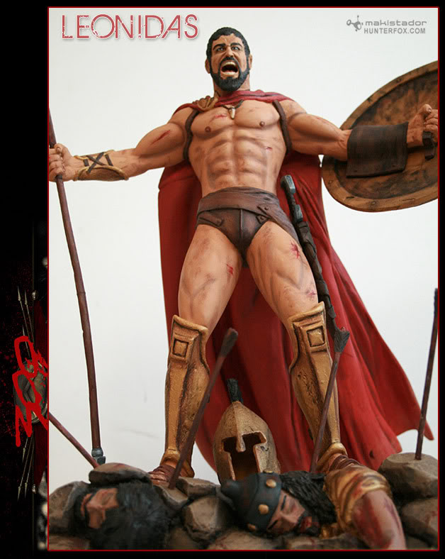 TERMINE - Statue kit resine Leonidas film 300 - SPARTIATES ! Kitleonidas6