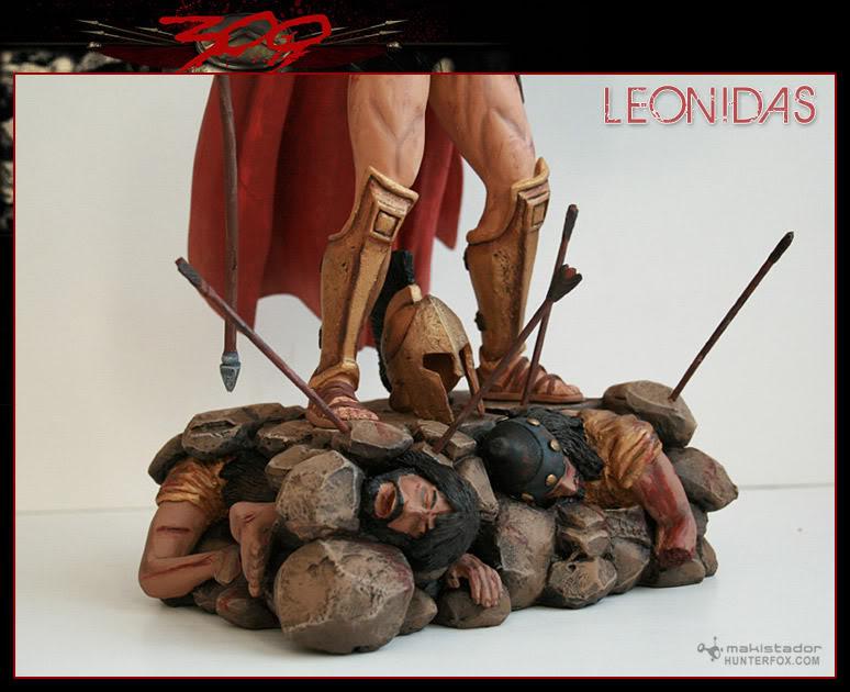 TERMINE - Statue kit resine Leonidas film 300 - SPARTIATES ! Kitleonidas7