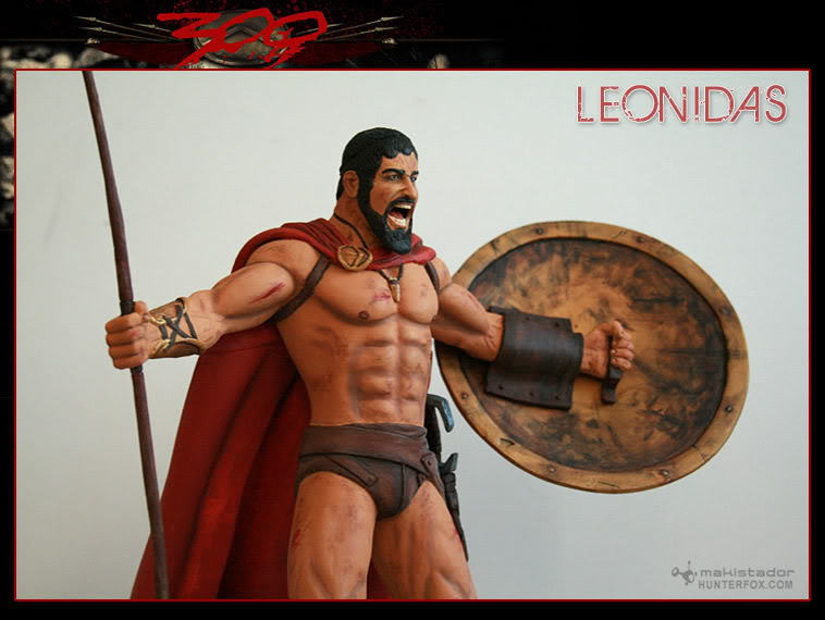 TERMINE - Statue kit resine Leonidas film 300 - SPARTIATES ! Kitleonidas8