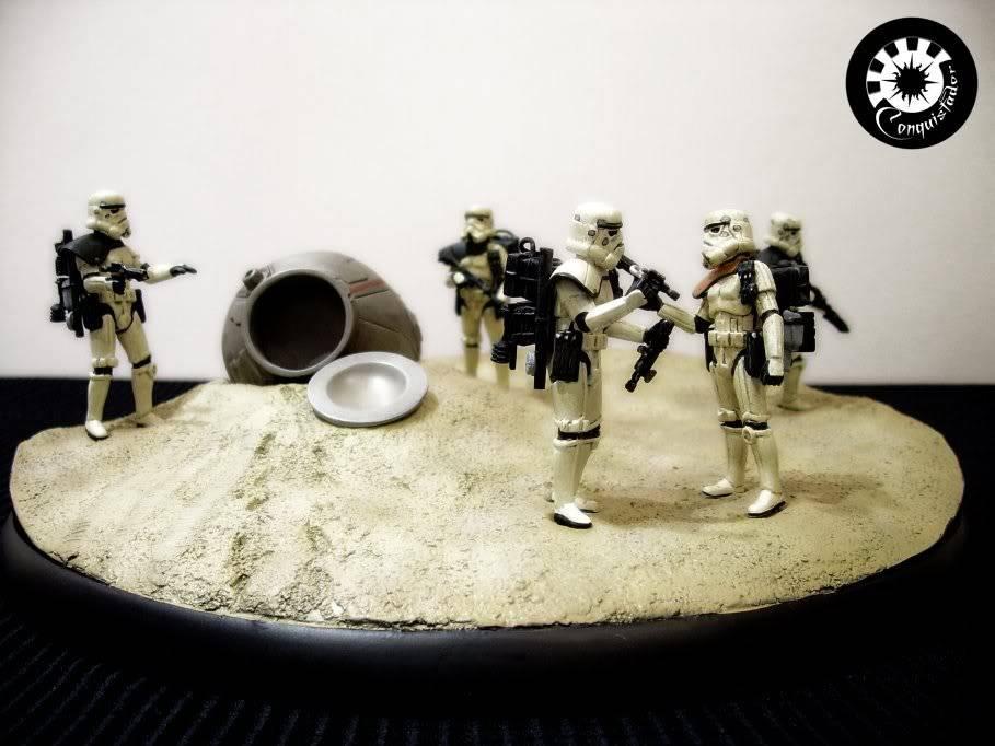 "diorama sandtrooper ""look sir,droids "" - Page 5 Sand1"