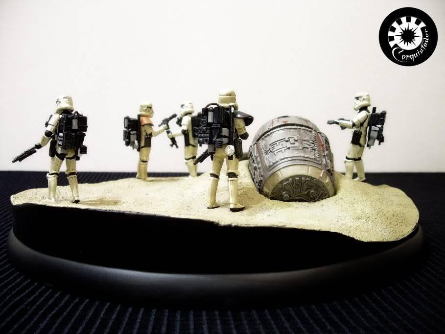 "diorama sandtrooper ""look sir,droids "" - Page 5 Sand3"