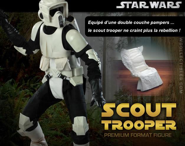 Scout Trooper Premium Format Figure Scout