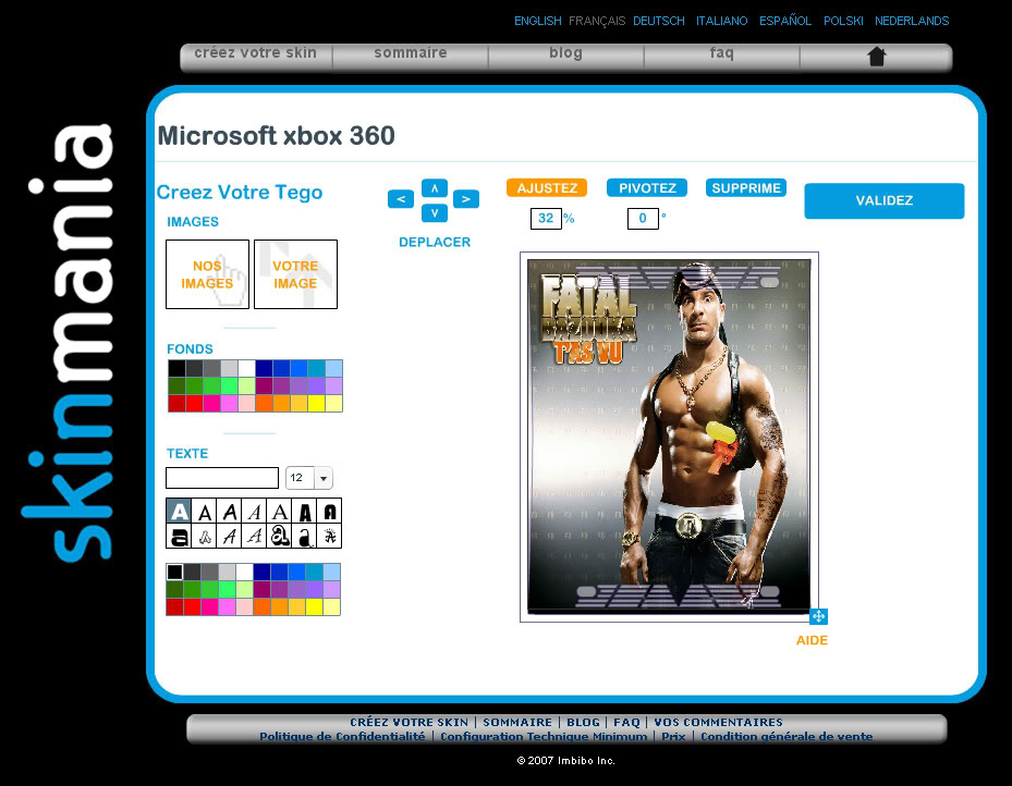 Des skins ( stickers ... ) pour votre console de jeux ! Skin