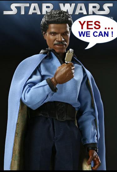 Lando Calrissian 12 inch par sideshow Yeswecan