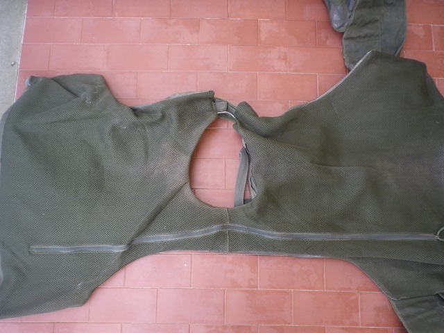 Aghan made body armour cover and modified uniform Fas006