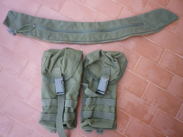 Aghan made body armour cover and modified uniform Fas008